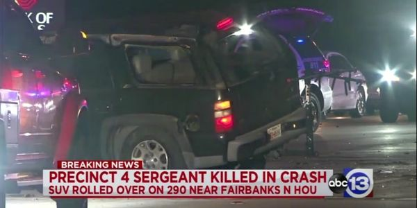 TX Constable Sergeant Killed in Off-Duty Wreck