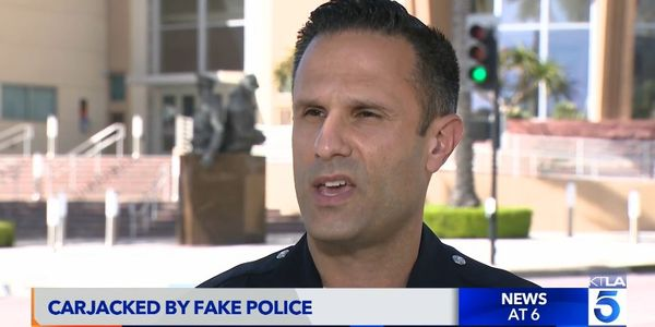 Police Imposters Carjack Victims in California