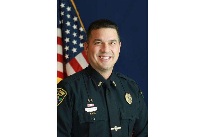 West Fargo, ND, Police Lieutenant Adam Gustafson died Tuesday afternoon after an on-duty medical emergency. (Photo: West Fargo PD/Facebook) -