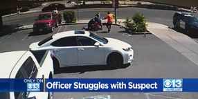 Civilians Come to Aid of CA Officer During Gun Grab Attack