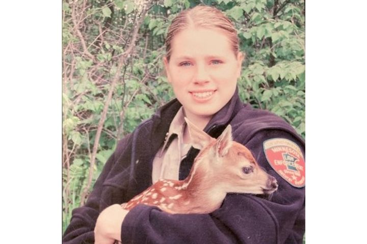 Minnesota Conservation Officer Sarah Grell was killed in a on-duty vehicle crash Monday. (Photo: Minnesota Department of Resources) -