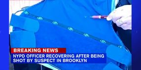 NYPD Officer Shot Multiple Times, Saved by Vest
