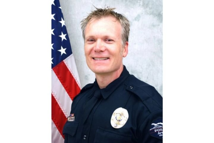 Arvada, CO, police officer Gordon Beesley was killed responding to a shooting Monday. (Photo: Arvada PD) -