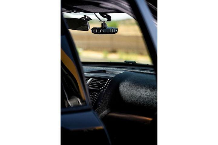 Axon's Fleet 3 in-car video systemfeaturesAI-powered ALPR. (Photo: Axon) -