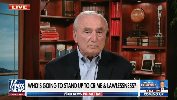 Bill Bratton told Fox he would not take a job as a major city chief because he could not succeed under current political conditions. (Photo: Fox Screen Shot) -