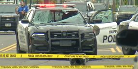 Buffalo Officer Critically Injured in Vehicle Pursuit