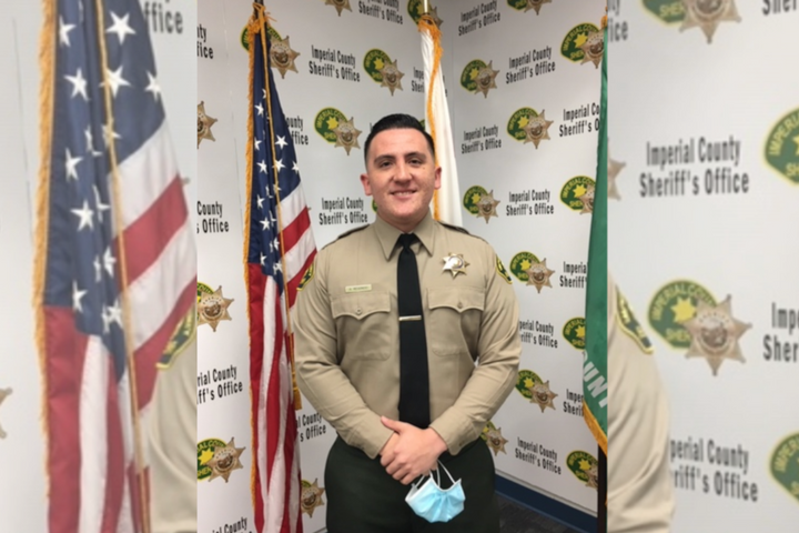 Deputy Anthony Redondo, 25, of the Imperial County (CA) Sheriff's Office was killed Saturday in a patrol vehicle crash. (Photo: Imperial County SO) -