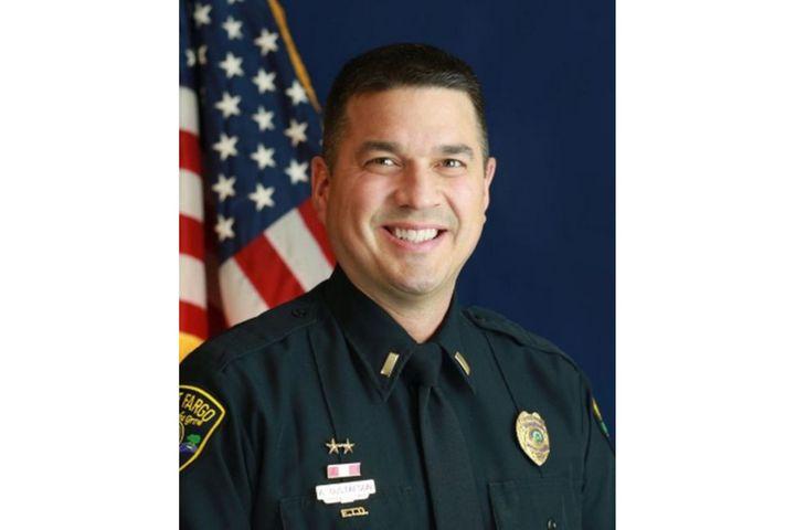 Lieutenant Adam Gustafson of theWest Fargo (ND) Police Department died last week after an on-duty heart attack. (Photo: West Fargo PD) -