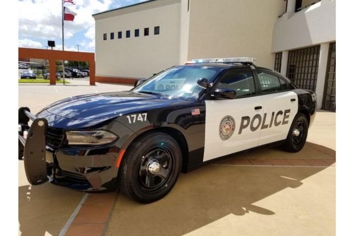 Laredo (Texas) Police Department's Chargers have the Mobileye collision avoidance technology installed to boost officer safety. (Photo: Laredo PD) -