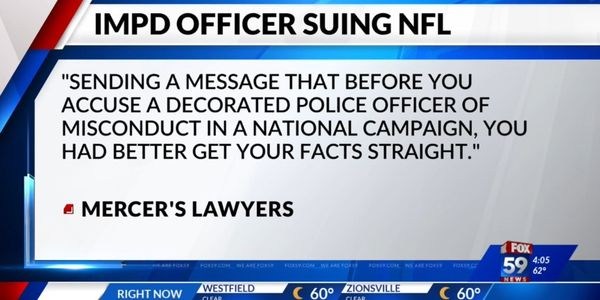 Officer Sues NFL for Implying He Killed Man without Justification