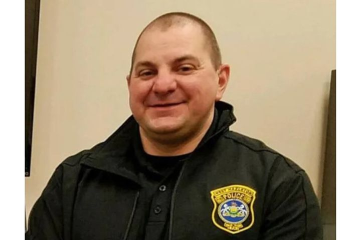 ChiefBrian Buglio of the West Hazleton Police Department has reported pleaded guilty to charges stemming from threatening a police critic with a felony arrest. (Photo: West Hazleton PD) -