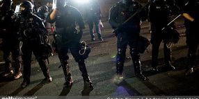 Portland Crowd Control Unit Resigns Over Indictment of Officer