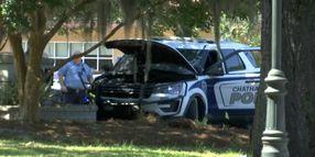 Man Shot at End of Pursuit Involving Stolen Patrol SUV