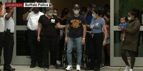 Buffalo Officer Leaves Hospital 1 Month After Pursuit Crash Left Him in Coma