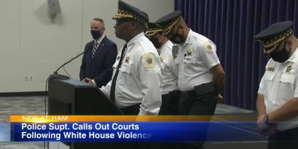 Chicago Police Superintendent Meets with Biden, Promises Action on Gun Crime