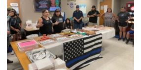 Mother of Dallas Officer Slain in 2016 Sniper Attack Brings Food to Officers at His Former Station