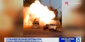 10 LAPD Officers, ATF Agent and 6 Others Injured in Controlled Detonation Failure
