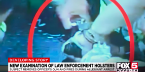 Man Shot Vegas Officer with Another Officer's Holstered Pistol