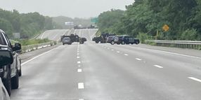 """Armed """"Sovereign"""" Group Surrenders to Massachusetts Police After Highway Standoff Over Firearms Registration"""