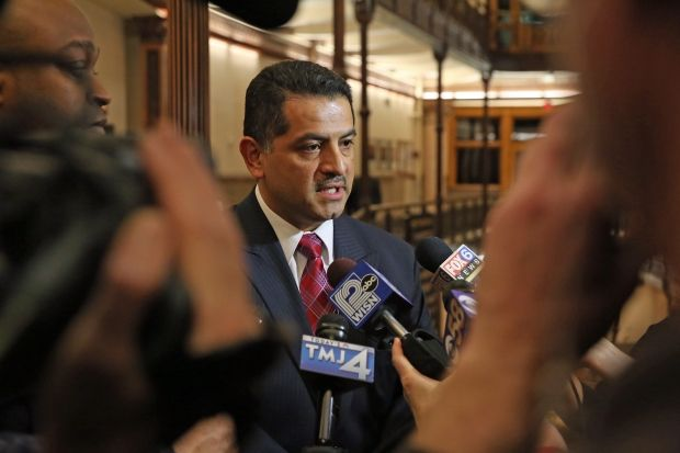 Former Milwaukee Police Chief Alfonso Morales is suing the city over his demotion. (Photo: Milwaukee PD) -