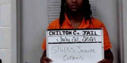 Javonte Cornuis Stubbs, 18, is being held in the Chilton County Jail. He is charged with the murder of Selma, AL, officer Marquis Moorer. (Photo: Chilton County Jail)