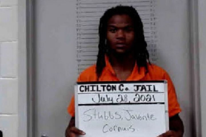 Javonte Cornuis Stubbs, 18, is being held in the Chilton County Jail. He is charged with the murder of Selma, AL, officer Marquis Moorer. (Photo: Chilton County Jail) -