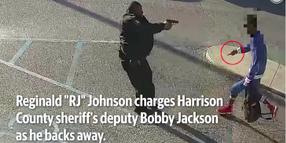 MS Agency Releases Video of Deputy Shooting Knife-Wielding Man
