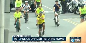 Retired NC Officer Bikes Thousands of Miles for Police Suicide Awareness