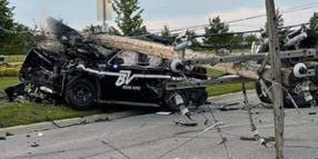 Michigan Officer Seriously Injured When Suspect Crashed into Patrol Vehicle
