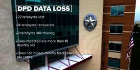 Dallas PD's Loss of Terabytes of Case Data Could Affect Prosecutions