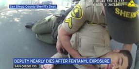 Body Camera Video Shows CA Deputy's Almost Fatal Fentanyl Exposure