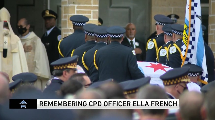 Thousands Attend Funeral for Slain Chicago Officer