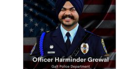 CA Officer Dies from Crash Injuries Suffered Last Week