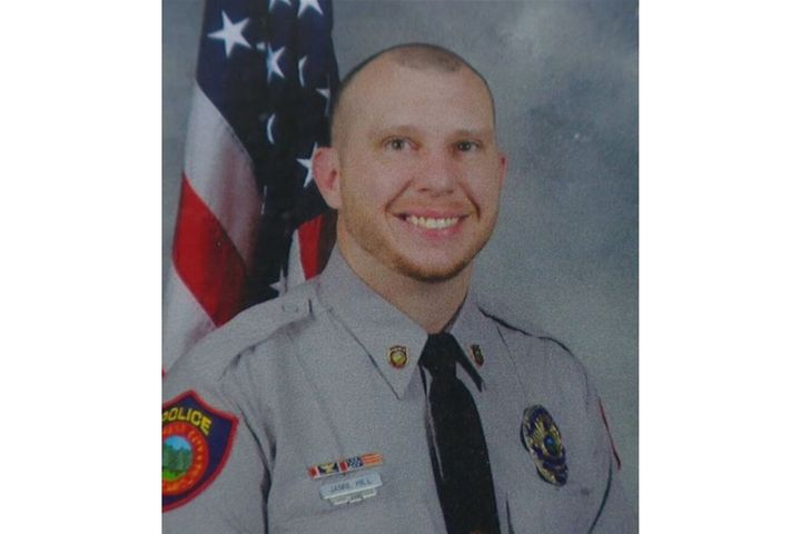Senior Officer Jamie Hill of the Forest City (NC) Police Department was shot and critically wounded Monday. (Photo: Forest City PD) -