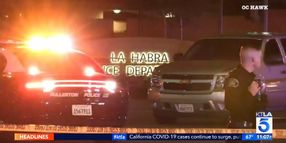 CA Officer Critically Wounded, Suspect Killed in Gunfight Outside Police Station