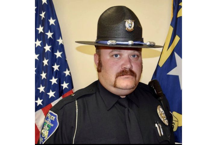 Officer Craig Cloninger, 38, suffered a medical emergency during a house fire. (Photo: Mount Gilead PD) -