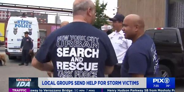 New York Officers and Firefighters Head to Louisiana for Hurricane Response