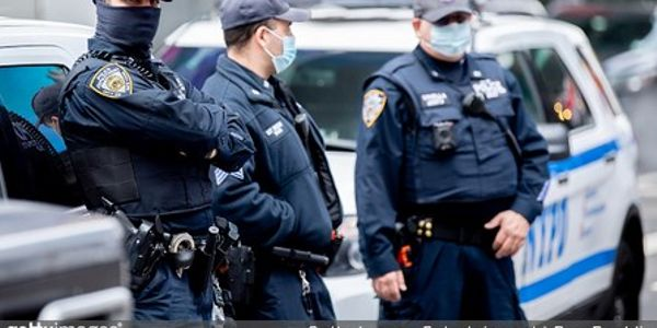 Unvaccinated NYPD Officers Could Face Discipline for Not Wearing Masks on Duty