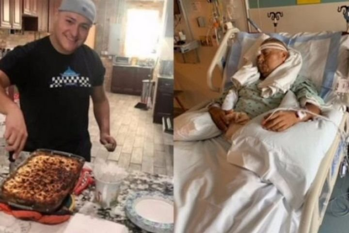 Chicago officer Carlos Yanez was shot in the eye and the brain during the attack that killed Officer Ella French. He is reportedly paralyzed. (Photo: Family/GoFundMe) -