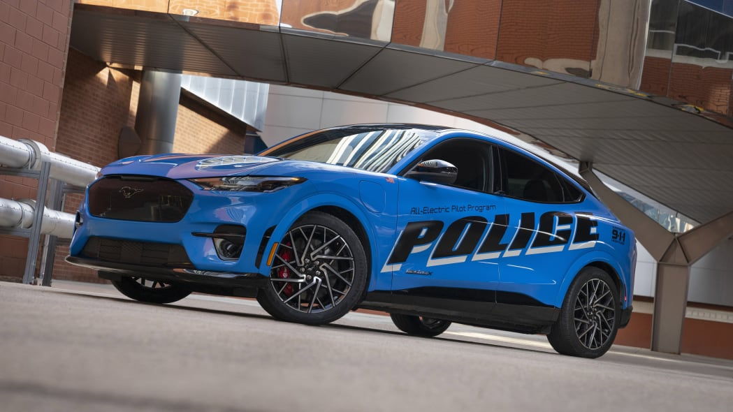 Ford Sending Electric Mustang to Michigan State Police Test