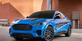 Ford's Electric Mustang Patrol Vehicle Passes Michigan State Police Tests