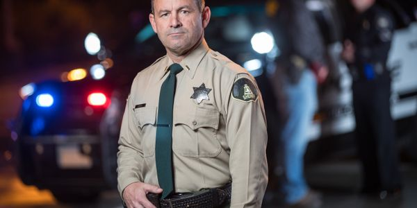 Riverside County, CA, Sheriff Chad Bianco opposes the vaccine mandate. (Photo: Campaign Image)