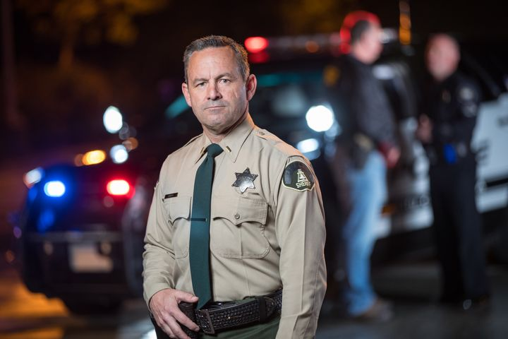 Riverside County, CA, Sheriff Chad Bianco opposes the vaccine mandate. (Photo: Campaign Image) -