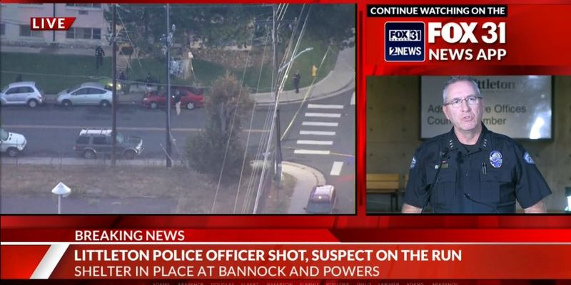Colorado Officer Shot Multiple Times, Suspect at Large
