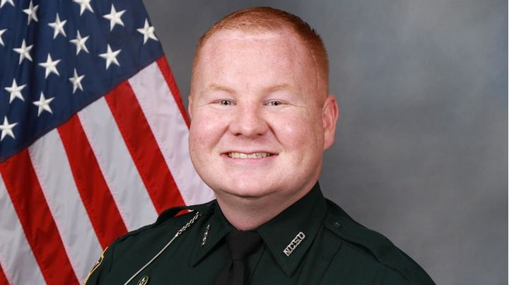 Nassau County, FL, deputy Joshua Moyers is in very critical condition after being shot at a traffic stop early Friday. (Photo: Nassau County SO) -