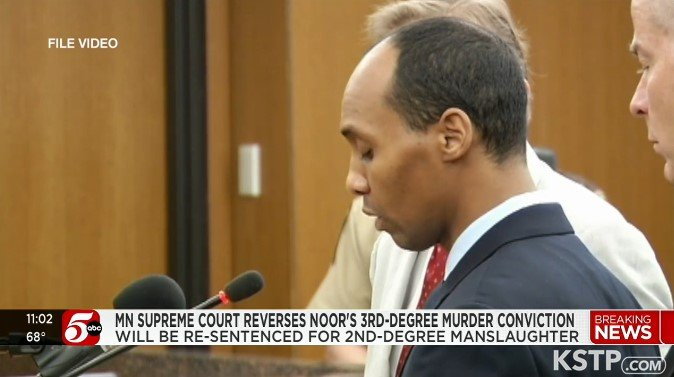 MN Supreme Court Reverses Former Officer's Murder Conviction Over Shooting of Woman