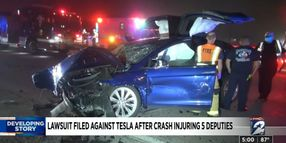 Lawsuit Filed Against Tesla Over Autopilot Accident that Injured TX Officers