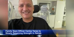 """Family Says Wounded and ParalyzedChicago Officer Working """"110%"""" to Recover"""