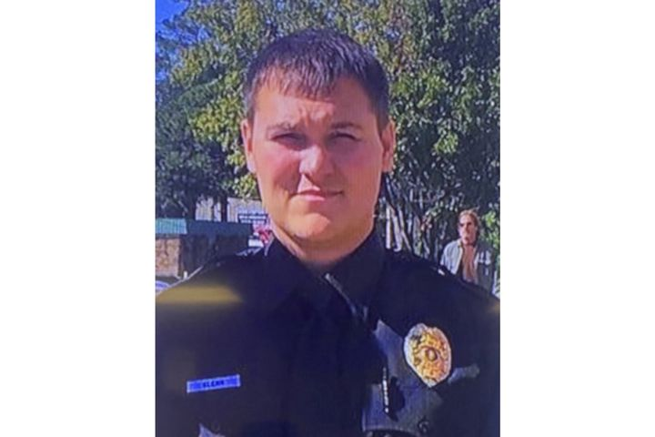 Warrior, AL, narcotics detectiveLee Glenn was shot several times in the chest Thursday night. (Photo: Warrior PD) -