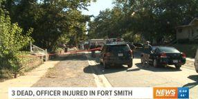 Arkansas Officer's Neck Slashed at Domestic Murder Scene